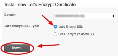 SiteGround Install SSL