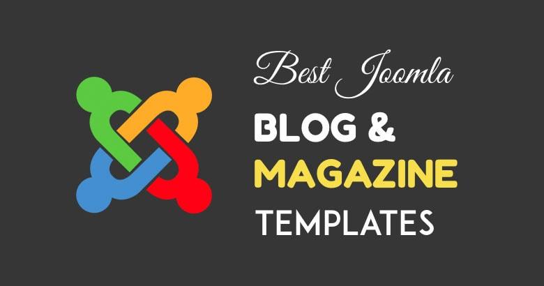 Joomla Blog Templates | 5 Best Responsive Blog Magazine Templates For Joomla In 2018