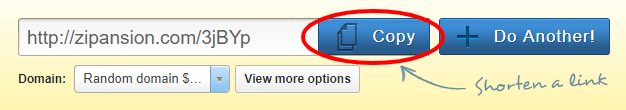 AdFly Shortened URL