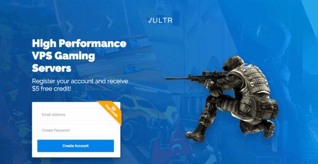 Vultr Gaming VPS