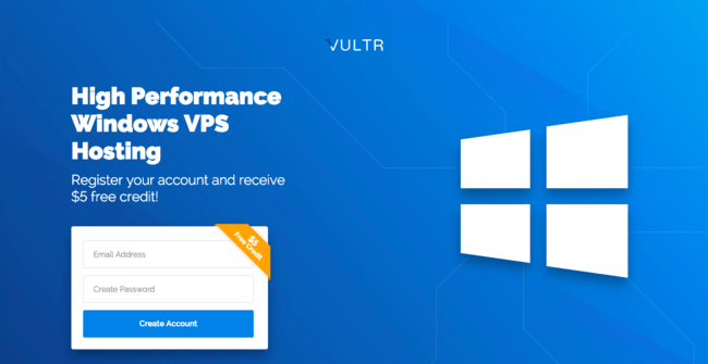Vultr Windows VPS
