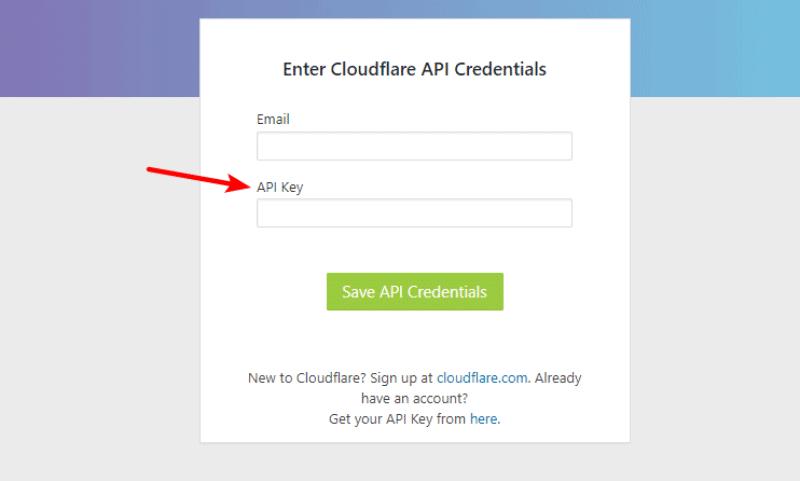 Cloudflare WordPress Plugin API