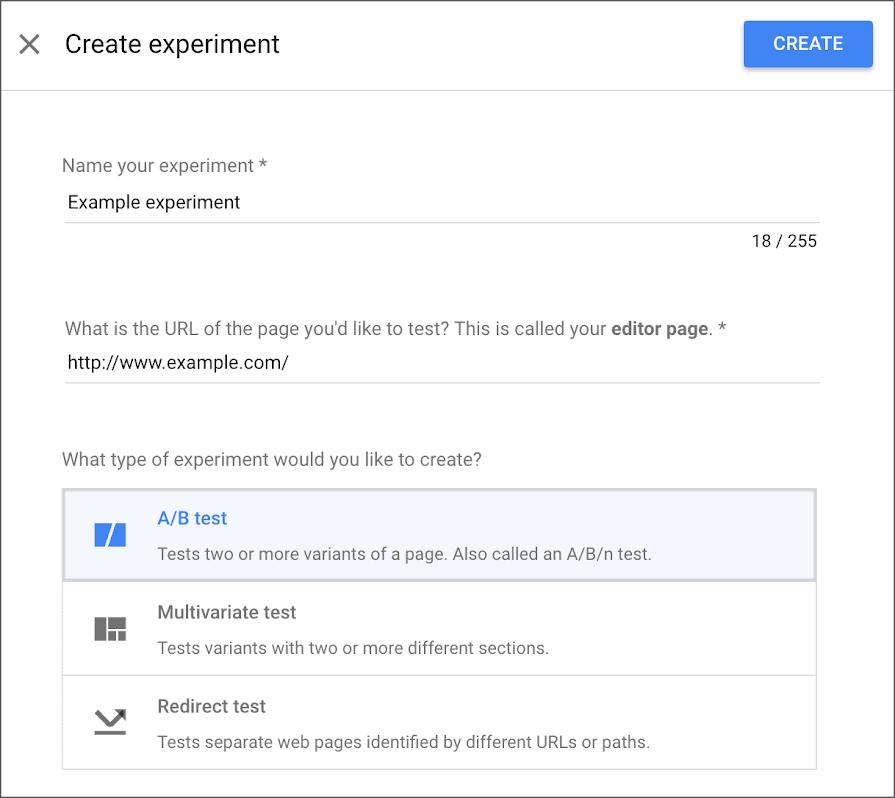 Google Optimize A/B Testing