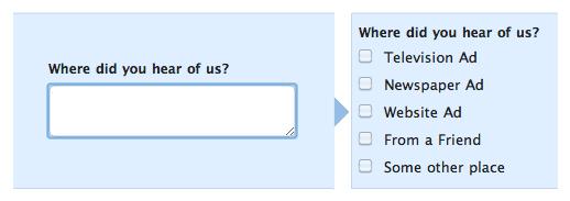 Multiple Field Options