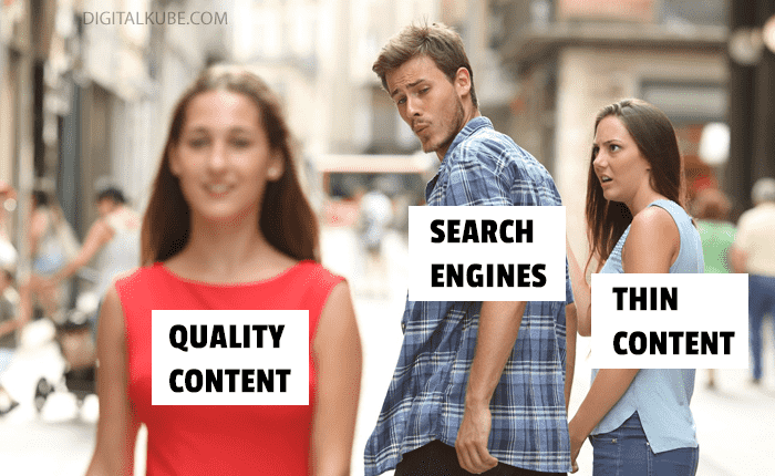Thin Content and Search Engines