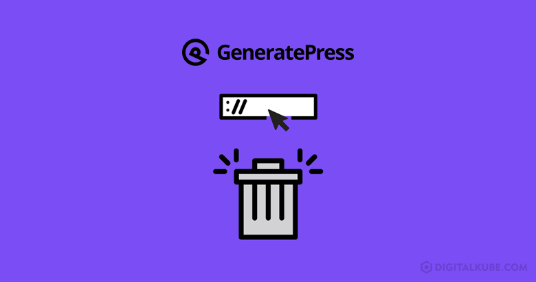 Remove URL Field From GeneratePress Comments Section